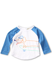 Stella McCartney Kids - Max L/S Tee Shirt w/ Dog Graphic (Infant)