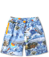 Stella McCartney Kids - Taylor Boys Tropical Print Swimshort (Toddler/Little Kids/Big Kids)