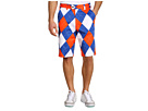 Loudmouth Golf Orange and Blue Short