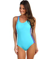 Speedo - Muscle Back Logo One Piece