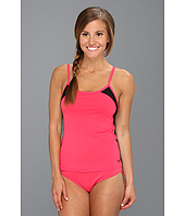 Speedo - Mesh Adjustable Strap Tankini Set