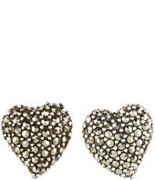 Judith Jack - 60221666 Heart Stud Earrings
