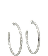 Judith Jack - 60201262 Square Cut Large Hoop Earrings