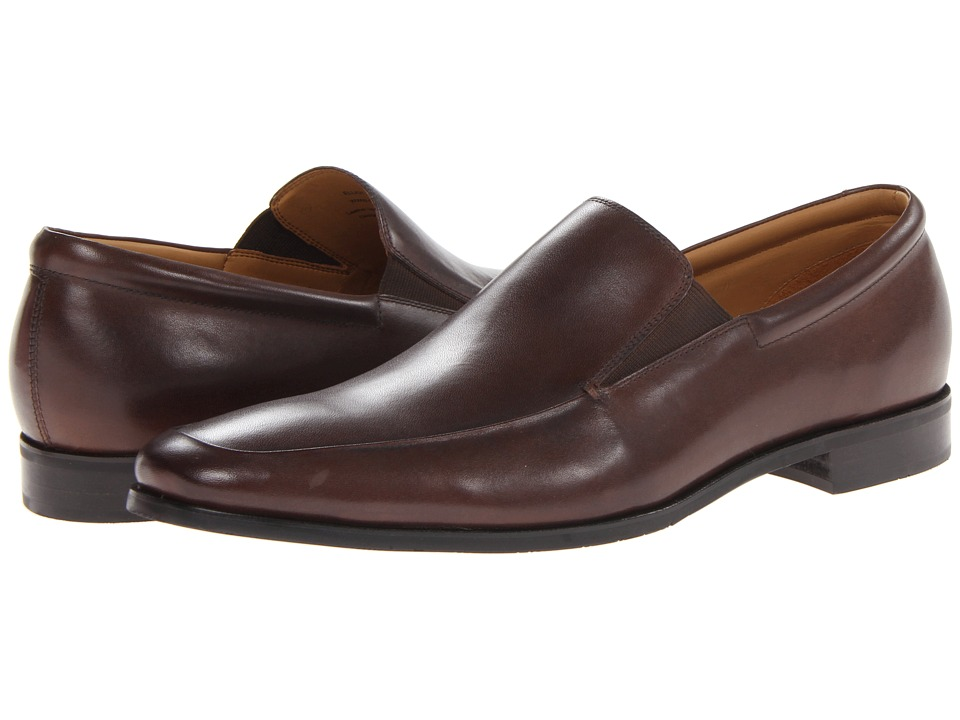 Gordon Rush Elliot Chocolate Calf Mens Slip on Dress Shoes