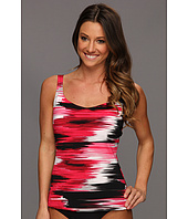 Speedo - Brushed Stripe Comfort Strap Tankini