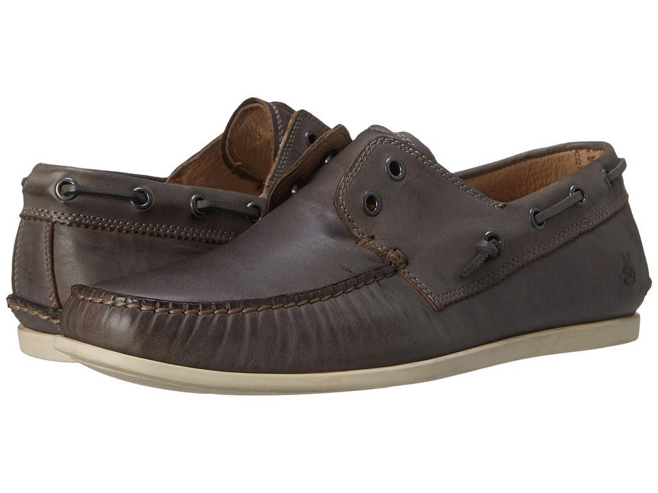 John Varvatos Schooner Boat Lead Mens Slip on Shoes