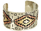Gypsy SOULE - Aztec Cuff (Silver/Brass/Copper)
