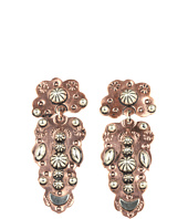 Gypsy SOULE - Silver and Copper 2 Piece Drop Earrings