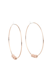 Michael Kors - Modern Classics Pave Fireball Whisper Hoop Earrings