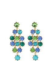 Betsey Johnson - Blue Lagoon Gem Earrings