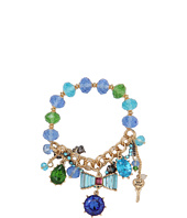Betsey Johnson - Blue Lagoon Toc Bow Crystal Bracelet