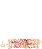Betsey Johnson - Vintage Rose Heart Bracelet