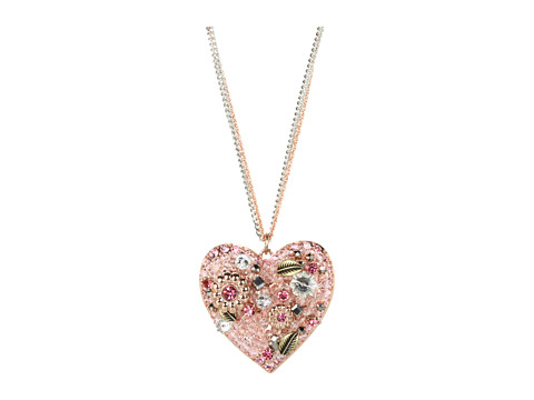 Betsey Johnson Vintage Rose Vintage Heart 31