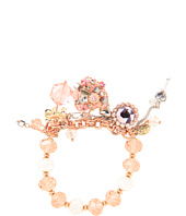 Betsey Johnson - Vintage Rose Vintage Heart Bracelet