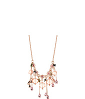 Betsey Johnson - Vintage Rose Gem Teardrop Necklace