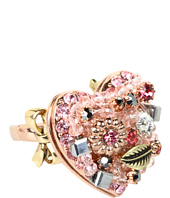 Betsey Johnson - Vintage Rose Heart Ring