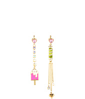 Betsey Johnson - Candylane Pop/Candy Non-Matching Earrings