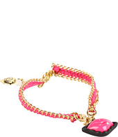 Betsey Johnson - Bracelet Boost Lips Friendship Bracelet