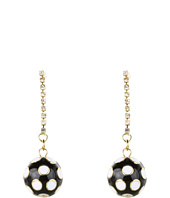 Betsey Johnson - Pretty Polka Dot Ball Earrings