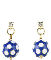 Betsey Johnson - Pretty Polka Dot Ball Drop Earrings