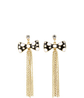 Betsey Johnson - Pretty Polka Dot Chain Earrings