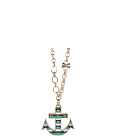 Betsey Johnson - Ivy League Anchor Ribbon Long Necklace