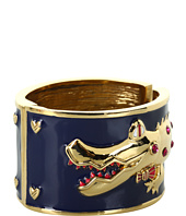 Betsey Johnson - Ivy League Alligator Hinged Bracelet