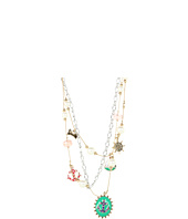 Betsey Johnson - Ivy League Toc Anchor Cameo Necklace