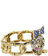 Betsey Johnson - Ivy League Toc Skull Stretch Bracelet