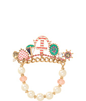 Betsey Johnson - Ivy League Anchor Stretch Bracelet