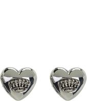 Juicy Couture - Puffed Heart Stud Earrings