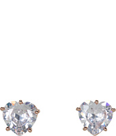 Juicy Couture - CZ Heart Stud Earrings