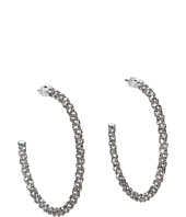 Juicy Couture - Small Pave Hoop Earrings