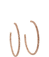 Juicy Couture - Large Pave Hoop Earrings