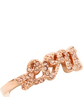 Juicy Couture - Pavé Love Adjustable Ring