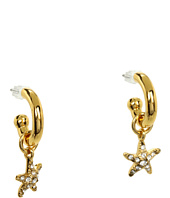 Juicy Couture - Star Fish Small Hoop Earrings