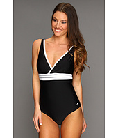 Speedo - Solid Piped One Piece