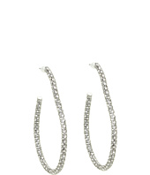 Juicy Couture - Pave Teardrop Hoop Earrings