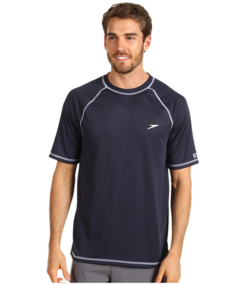 Shop for men's rash guards and swim shirts from Speedo USA. Surf the waves with comfort and style with swim shirts for men and rash guards.