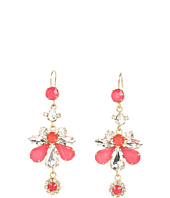 Juicy Couture - Rhinestone Chandelier Earrings