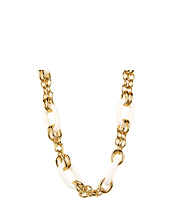 Juicy Couture - Enamel Link & Double Chain Necklace