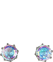 Juicy Couture - Ab CZ Oversized Stud Earrings