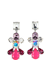 Juicy Couture - Colorful Gemstone Linear Earrings
