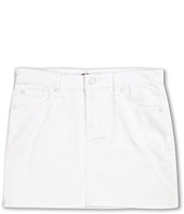 7 For All Mankind Kids - Girls' Skirt in Clean White (Big Kids)