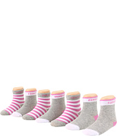 7 For All Mankind Kids - Girls' 7 Socks for 7 Days (Infant)