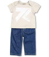 7 For All Mankind Kids - Boys' Slub Flynt Tee & Pull-On Jean Gift Set (Infant)