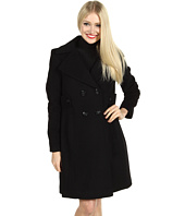 Nicole Miller - Side Tab Wool Coat