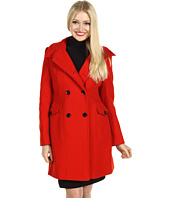 Nicole Miller - Architectural Wool Twill Coat