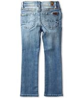 7 For All Mankind Kids - Girls' Straight Leg in Distressed Del Azul (Little Kids)