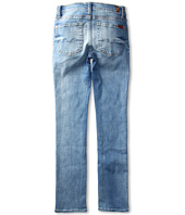 7 For All Mankind Kids - Girls' Straight Leg in Distressed Del Azul (Big Kids)